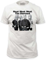 THE DAMNED NEAT NEAT NEAT MENS FITTED JERSEY TEE