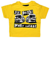 SEX PISTOLS VACANT KIDS T-SHIRT