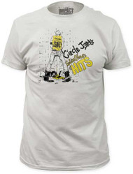 CIRCLE JERKS GOLDEN SHOWER FITTED JERSEY TEE