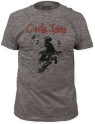CIRCLE JERKS SKANK MAN FITTED JERSEY TEE