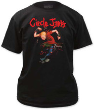 CIRCLE JERKS SKANK MAN MENS TEE