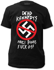 DEAD KENNEDYS NAZI PUNKS F OFF FITTED JERSEY TEE