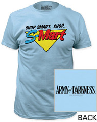 ARMY OF DARKNESS SHOP SMART. SHOP…S-MART FITTED JERSEY TEE