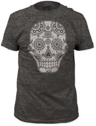 SUGAR SKULL FITTED JERSEY TEE