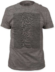 JOY DIVISION UNKNOWN PLEASURES FITTED JERSEY TEE