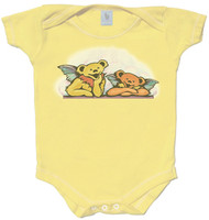 Grateful Dead Angel Bears Youth T-Shirt or Baby Snapsuit