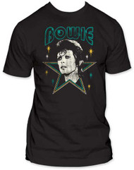DAVID BOWIE STARS FITTED JERSEY TEE