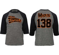 THE MISFITS ASTRO ZOMBIES BASEBALL JERSEY