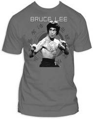 BRUCE LEE JUN FAN FITTED JERSEY TEE