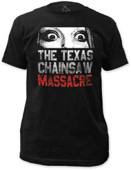 TEXAS CHAINSAW MASSACRE DONT LOOK NOW FITTED JERSEY TEE