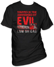ARMY OF DARKNESS LOW ON GAS MENS TEE