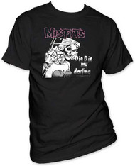 THE MISFITS DIE DIE MY DARLING MENS TEE