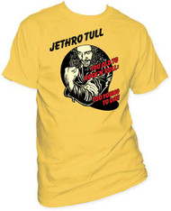 JETHRO TULL TOO YOUNG TO DIE MENS TEE