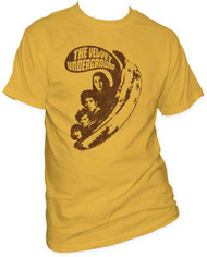VELVET UNDERGROUND VU SAYS MENS FITTED JERSEY TEE