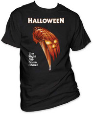 HALLOWEEN NIGHT HE CAME HOME MENS TEE