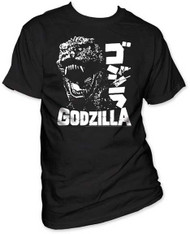 GODZILLA SCREAM MENS TEE