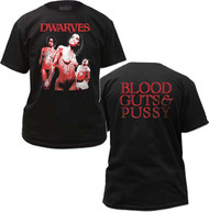 DWARVES BLOOD GUTS AND PUSSY MENS TEE