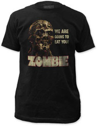 ZOMBIE FITTED JERSEY TEE 5