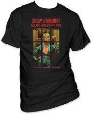 DAVID BOWIE ZIGGY PHONEBOOTH MENS TEE