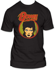 DAVID BOWIE GLAM SHOT MENS TEE