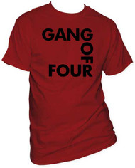 GANG OF FOUR SQUARE LOGO MENS TEE