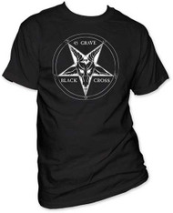 45 GRAVE BLACK CROSS MENS TEE