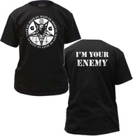 GG ALLIN WAR IN MY HEAD MENS TEE