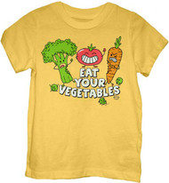 EAT YOUR VEGETABLES TODDLER TEE