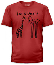 I AM A GENIUS MENS TEE