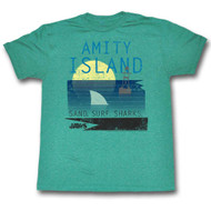 Mens Jaws Amity New Colors Tee Shirt