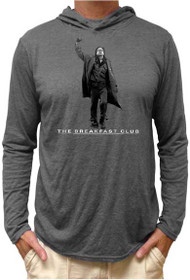 The Breakfast Club Fist Pump Long Sleeve Hooded Shirt