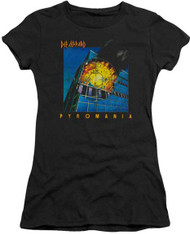 Def Leppard Pyromania Ladies Tee Shirt