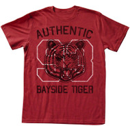 Saved by The Bell Authentic Bayside Tiger Adult Tee Shirt