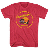 Baywatch Lifeguard Mens Tee Shirt