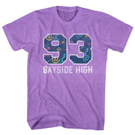 Saved By the Bell Varsity Pattern Adult Tee Shirt
