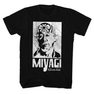The Karate Kid Mr Miyagi Adult Tee Shirt