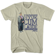 Mens The Three Stooges Nyuk Cum Laude Tee Shirt