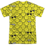 Adult Smiley World Smile Pile Sublimation T-Shirt