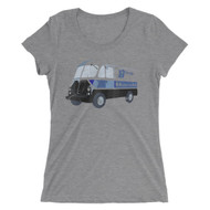 Tastycakes Retro Truck Ladies' Tri Blend Tee Shirt