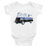 Tastycakes Infant Short Sleeve Made in the USA Snapsuit