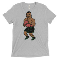 Tyson Punchout Inspired Tri Blend Adult Short sleeve t-shirt
