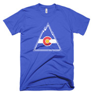 Colorado Rockies Inspired Short sleeve men's t-shirt