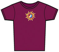 Grateful Dead Sunshine Lightning Baby Doll Womens T-Shirt