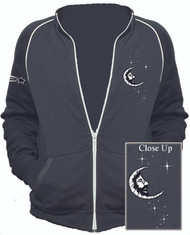 Jerry Garcia Moon Embroidered Track Jacket