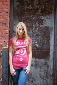 Coca-Cola 75th Anniversary Womens T-Shirt by Junk Food Clothing