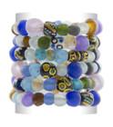 African Glass Bead Bracelets