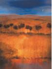 African Art Print. 'Atlas Foothills' by Caroline Gold