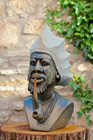 African Shona Sculpture 'African Chief'