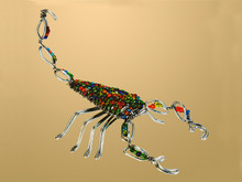 Bead and Wire Scorpion