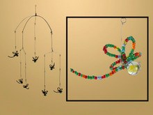 Beaded Dragonfly Mobile